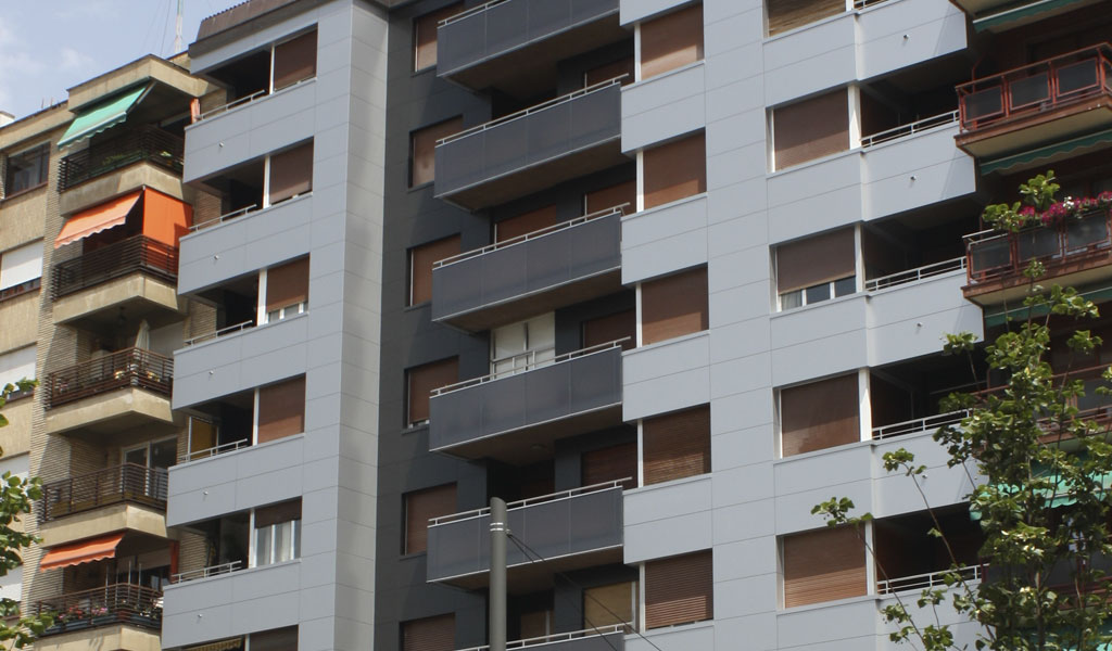 rehabilitación fachadas ventiladas